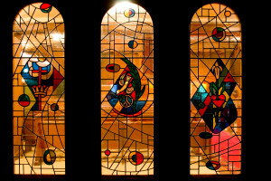 Narthex Stained glass