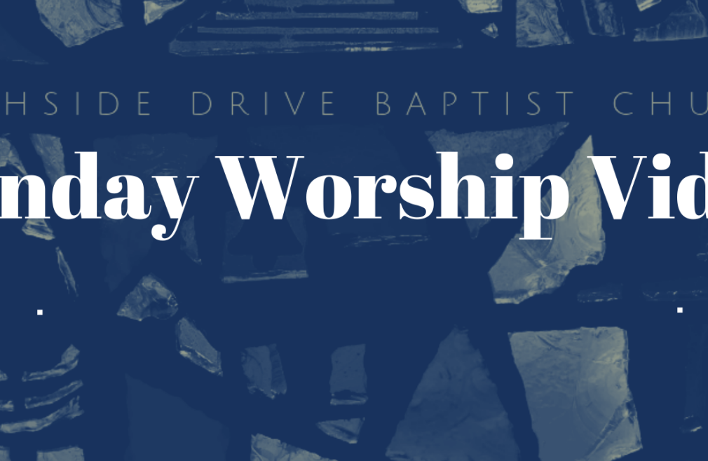 Sunday Morning Worship Live-stream (not in-person)